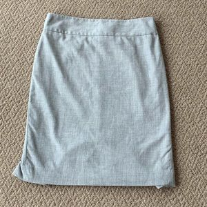 The Limited Light Grey Pencil Skirt